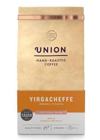 Union Coffee | Union Coffee  Yirgacheffe Ethiopian Ground Coffee | 1 X 200g. Sold By Superfood Market