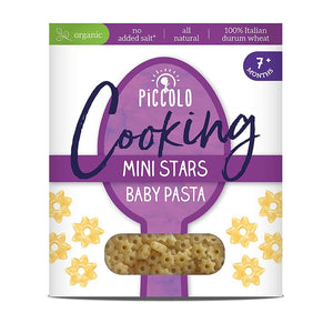 Piccolo Foods Ltd A | Piccolo  Organic Baby Pasta Stars - 7m+ | 1 X 400g. Sold By Superfood Market