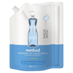 Method | Washing Up Liquid Refill - Coconut Water | 1 X 1.064ltr. Sold By Superfood Market