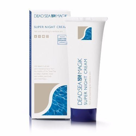 Dead Sea Spa Magik | Super Night Cream | 1 x 75ml
