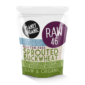 Planet Organic | Organic Sprouted Buckwheat | 1 X 400g. Sold By Superfood Market
