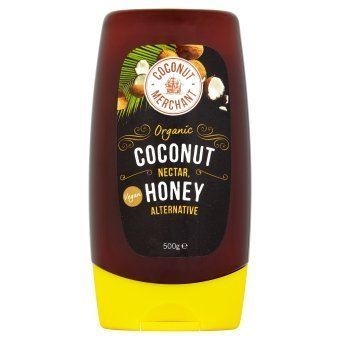 Coconut Merchant | Organic Vegan Squeezy Nectar Honey | 1 x 500g