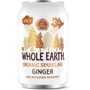 Whole Earth | Sparkling Ginger - Og | 1 x 330ml