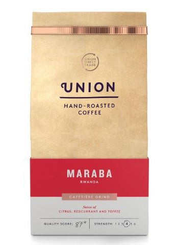 Union Coffee | Maraba Rwanda Ground | 1 x 200g