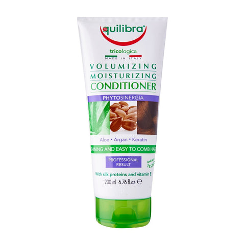 Equilibra | Aloe Vera Volumizing & Moisturising Shine Conditioner | 1 X 200ml. Sold By Superfood Market