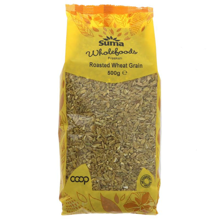 Suma Prepacks | Freekeh - Cracked Wheat Grain | 1 x 500g