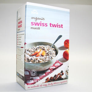 Suma Muesli | Swiss Twist Muesli - Organic | 1 X 500g. This Product Is :- Organic