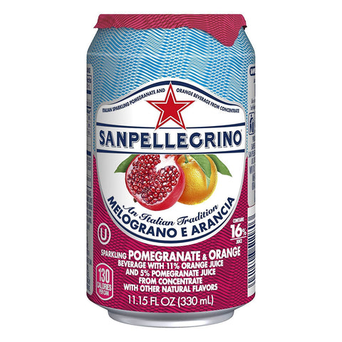 Nestle Waters Uk Ltd A | San Pellegrino Fruit Beverage - Pomegranate & Orange | 1 x 330ml