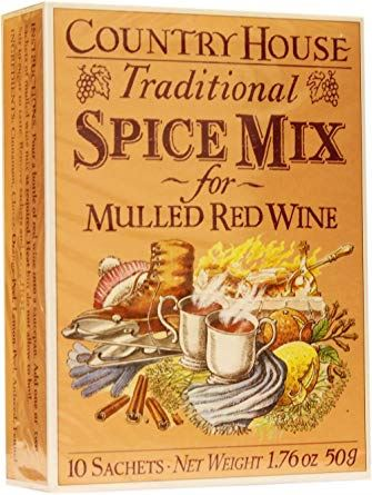Country House | Mulled Red Wine Spice Mix | 1 X 10sach. Sold By Superfood Market