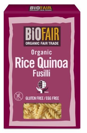 Biofair | Rice Quinoa Fusilli - Fairtrade | 1 x 250g | Biofair