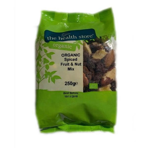 Ths Organic Mixes | Ths Organic Spiced Fruit & Nut Mix | 1 X 250g. Sold By Superfood Market