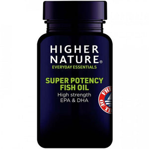 Higher Nature | Super Potency Fish Oil Capsules | 1 x 30s | Higher Nature