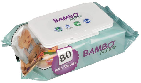 Abena Uk Ltd | Bambo Nature  Baby Wipes | 1 x 80s