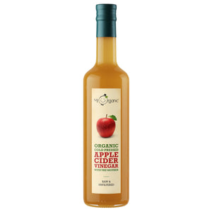 Mr Organic | Organic Apple Cider Vinegar | 1 X 500ml. This Product Is :- Gluten Free,vegan,organic