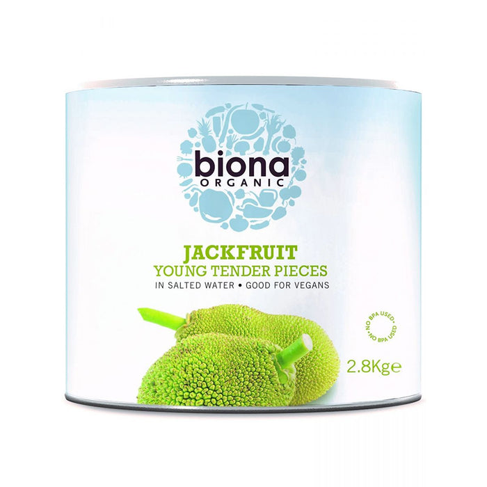 Biona | Jackfruit In Salted Water | 1 x 2.8kg