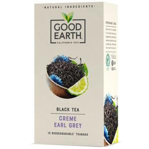 Good Earth | Crème Earl Grey Tea | 1 x 15 Bags