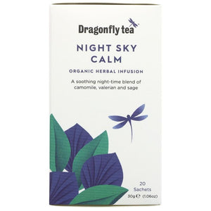 Dragonfly Tea | Night Sky Calm | 1 x 20 Bags | Dragonfly Tea