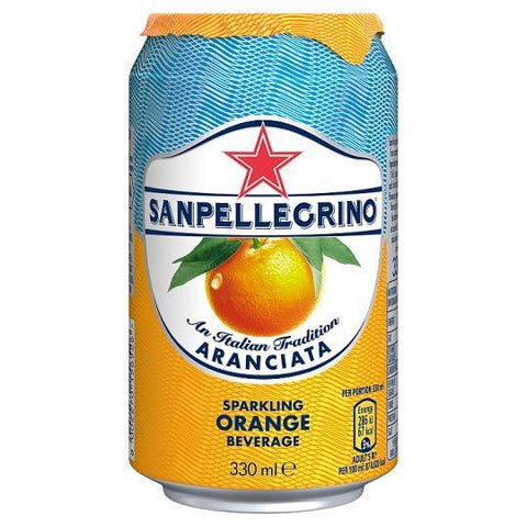 Nestle Waters Uk Ltd A | San Pellegrino Fruit Beverage - Orange | 1 x 330ml