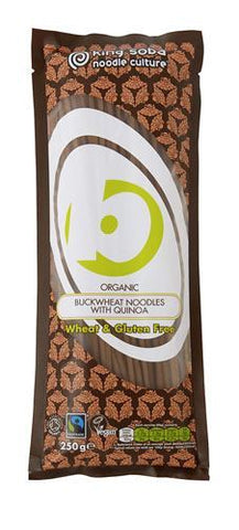 King Soba | Org & Ft Buckwheat Noodles & Quinoa | 1 x 250g