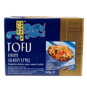Blue Dragon | Firm Silken Style Tofu | 1 x 349g. Sold By Superfood Market