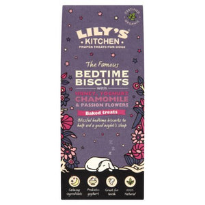 Lilys Kitchen | Organic Bedtime Biscuits Dog Treat | 1 x 100g | Lilys Kitchen