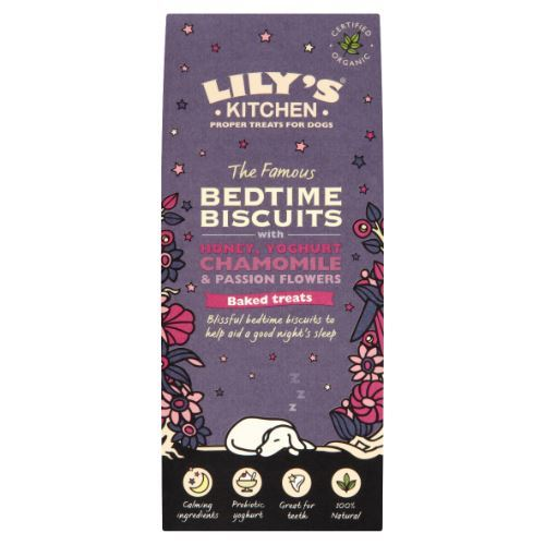 Lilys Kitchen | Organic Bedtime Biscuits Dog Treat | 1 x 100g