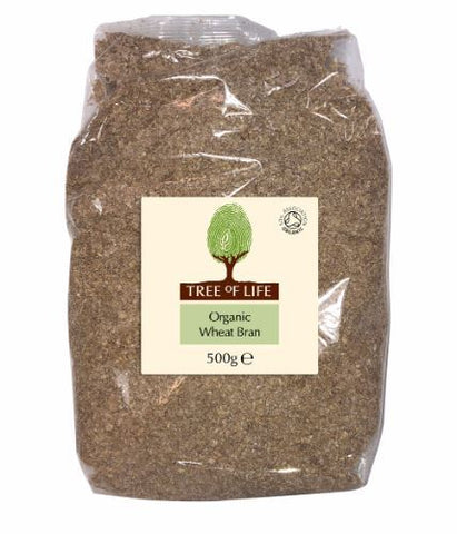 Tree Of Life | Organic Wheat Bran | 1 x 500g
