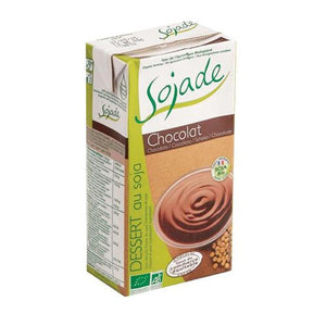 Sojade | Chocolate Soya Dessert | 1 X 530g. This Product Is :- Vegan,organic