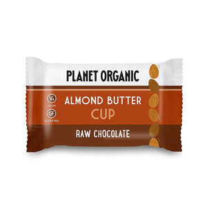 Planet Organic | Organic Almond Butter Cup | 1 X 25g. Sold By Superfood Market