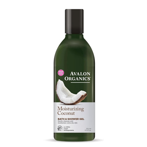 Avalon | Coconut Bath & Shower Gel | 1 X 355ml. Sold By Superfood Market