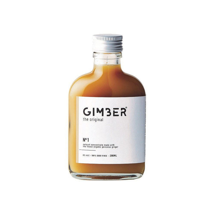 Gimber | Organic Peruvian Ginger Concentrate | 1 x 200ml
