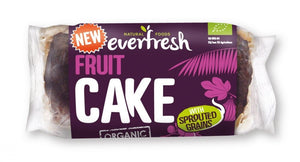 Everfresh Natural Foods | Sprouted Fruit Cake | 1 x 350g | Everfresh Natural Foods