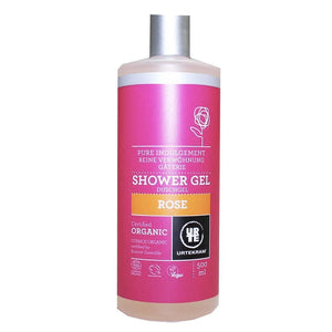 Urtekram | Rose Shower Gel | 1 X 500ml. This Product Is :- Vegan,organic