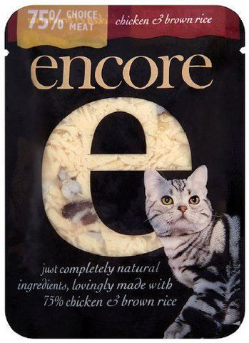 Encore | Cat Food - Chicken & Brown Rice (pouch) | 1 x 70g