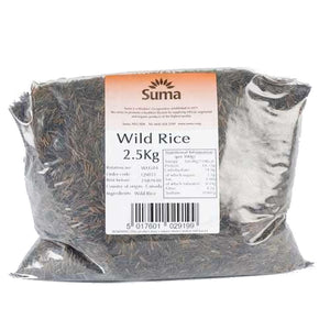 Suma Bagged Down | Rice - Wild | 2.5 Kg. This Product Is :- Vegan