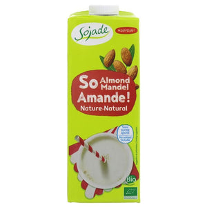 Sojade | Almond Drink Organic | 1 X 1l. This Product Is :- Vegan,organic