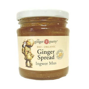 Ginger Party | Organic Ginger Spread | 1 x 240g | Ginger Party