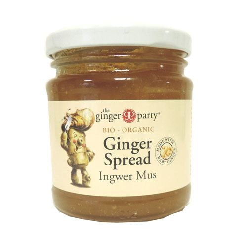 Ginger Party | Organic Ginger Spread | 1 x 240g