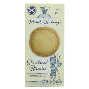 Island Bakery Organics | Shortbread Biscuits | 1 x 125g | Island Bakery Organics