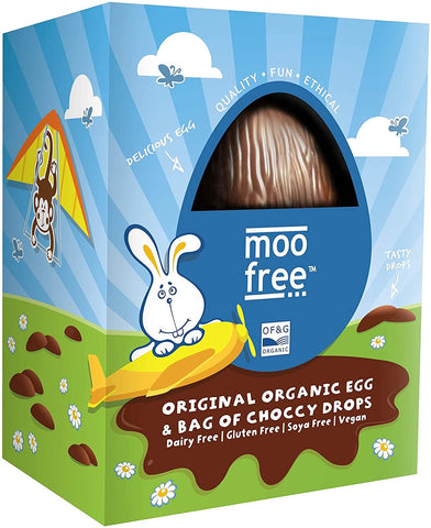 Moo Free | Milk Choccy Egg | 1 X 95g. Sold By Superfood Market