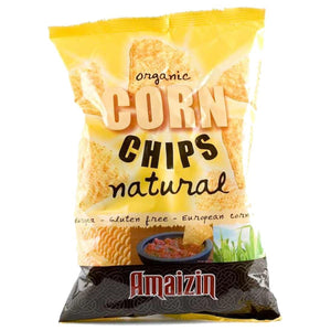 Amaizin | Bio Corn Chips Natural | 10 x 150g | Amaizin