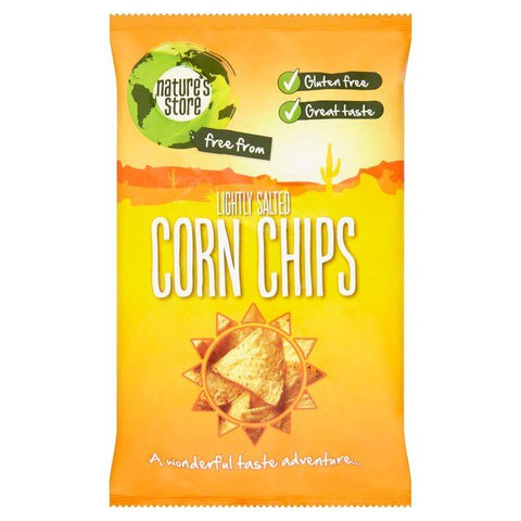 Natures Store | Lightly Salted Corn Chips | 10 X 150g. This Product Is :-