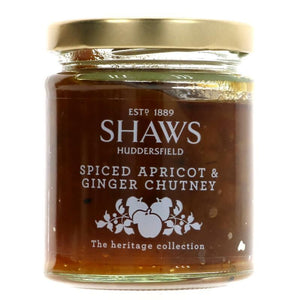 Shaws | Spiced Apricot Ginger Chutney | 1 X 200g. This Product Is :- Vegan