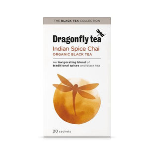 Dragonfly | Traditional Indian Chai Tea | 1 x 20 Bags | Dragonfly