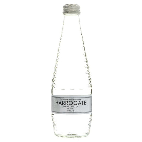 Harrogate Spring Water | Spring Water - Sparkling | 1 x 330ml