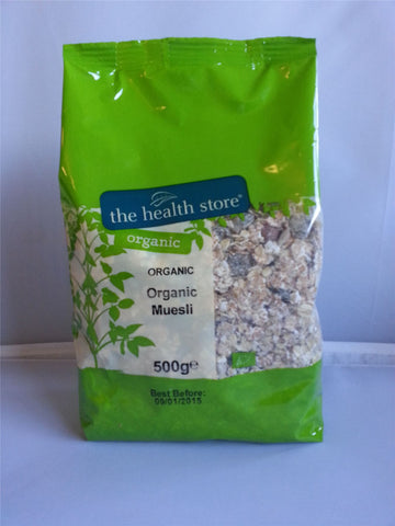 Ths Organic Breakfast Cereals | Ths Organic Muesli Base | 1 X 500ge. Sold By Superfood Market