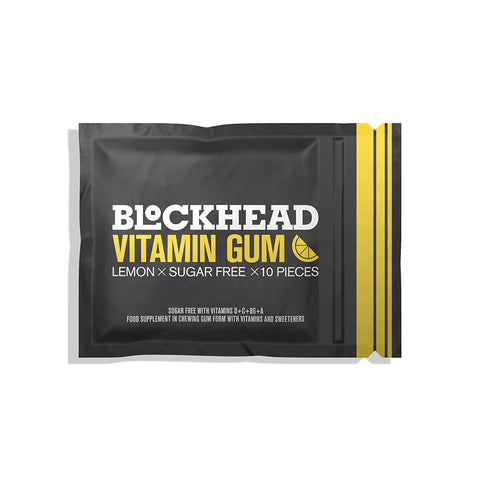Blockhead | Vitamin Gum 10pc | 1 X 10pc. Sold By Superfood Market