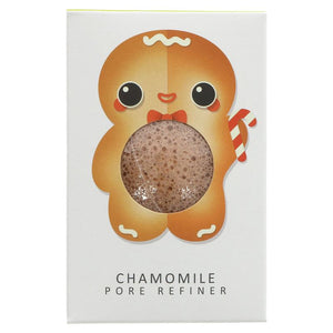 The Konjac Sponge Company | Sponge W/chamomile Gingerbread | 1 X 1. This Product Is :- Vegan