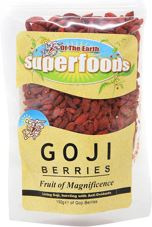 Of The Earth | Organic Goji Berries | 1 x 150g