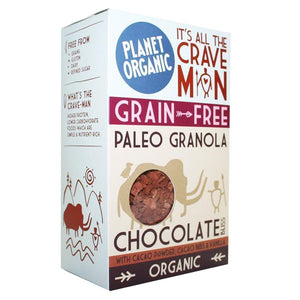 Planet Organic | Chocolate Bliss Paleo Granola | 1 X 350g. This Product Is :- Gluten Free,vegan,organic